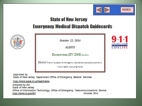 Office of Emergency Telecommunications Services | New Jersey