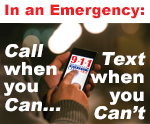 Text to 9-1-1 information page