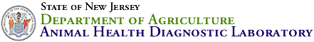 State Logo and Department of Agriculture | Animal Health Diagnostic Laboratory