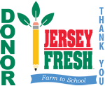 TEXT: Thank You - - LOGO: Jersey Fresh - Farm to School