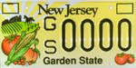 NJ Promote Agriculture License Plate