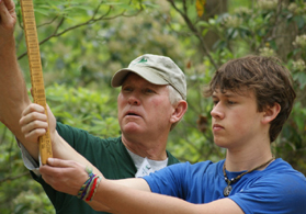 Photo of Envirothon action - Click to enlarge