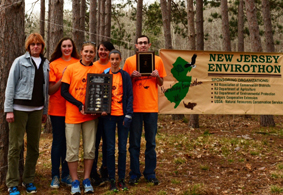 Photo of the MATES Envirothon Team - Click to enlarge