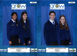 Photos of NJ Agriscience winners - Click to enlarge