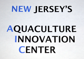 Aquaculture Innovation Center Sign - Click to enlarge