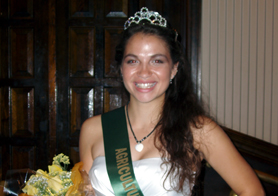 Photo of the 2012 NJ Ag Fair Ambassador - Click to enlarge