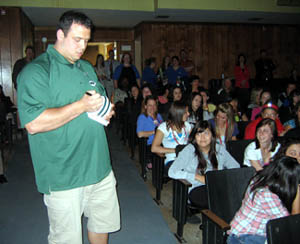 Photo of Mike Devito at Elmwood Park High School