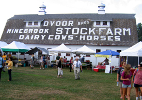 Photo of Hunterdon Land Trust Farmers Market - Click to enlarge
