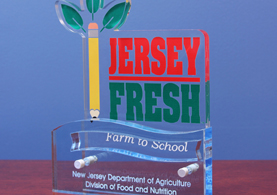 Photo of the Farm to School Award - Click to enlarge