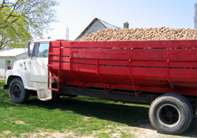 Photo of a farm vehicle - Click to enlarge