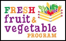 Fresh Fruit & Vegetable Program Logo - Click to enlarge