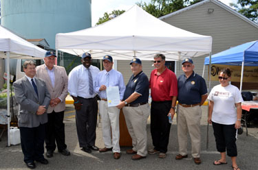 Photo of the Farmers Market Week Proclamation Presentation