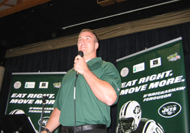 Photo of Ben Hartsock of the NY Jets - Click to enlarge