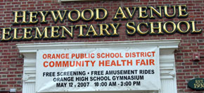 Heywood Ave School Sign