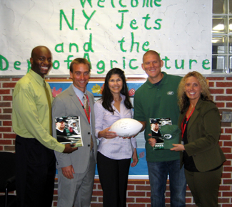 Photo of Charles Wande, Stephen Wisniewski, Arleen Ramos-Szatmary and Michele Pillari