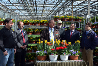 Photo of Jersey Grown annuals press conference