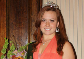 Photo of the 2014 NJ Agricultural Fair Ambassador - Click to enlarge
