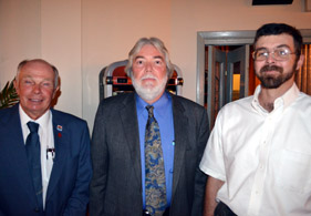 Photo of Roger Kumpel, Steven Wagner and Mitchell Jones - Click to enlarge