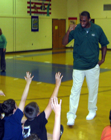 Photo of Marcus Henry at Old Turnpike School