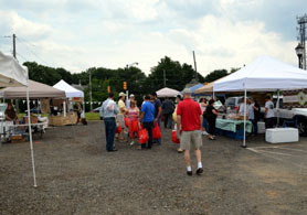 Photo of the Robbinsville Farmers Market - Click to enlarge