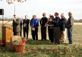Photo of Secretary Kuperus and other Dignitaries at Seabrook Preservation Event - Click to enlarge