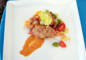 Photo of soft shell crab dish - Click to enlarge