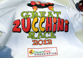 Photo of Great Zucchini Race tee-shirt - Click to enlarge