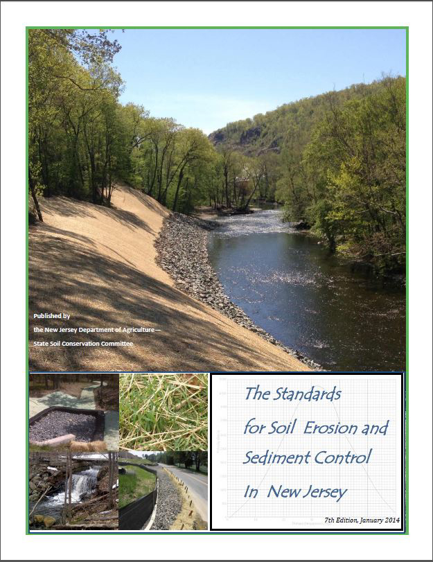 Photo of the Erosion Control Standards Cover - Click to enlarge
