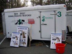 Photo of CART trailer housed regionally around NJ