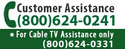 CUSTOMER ASSISTANCE - Call (800)624-0241