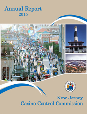 2015 Casino Control Commission Annual Report