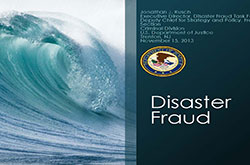 U.S. Department of Justice - Disaster Fraud