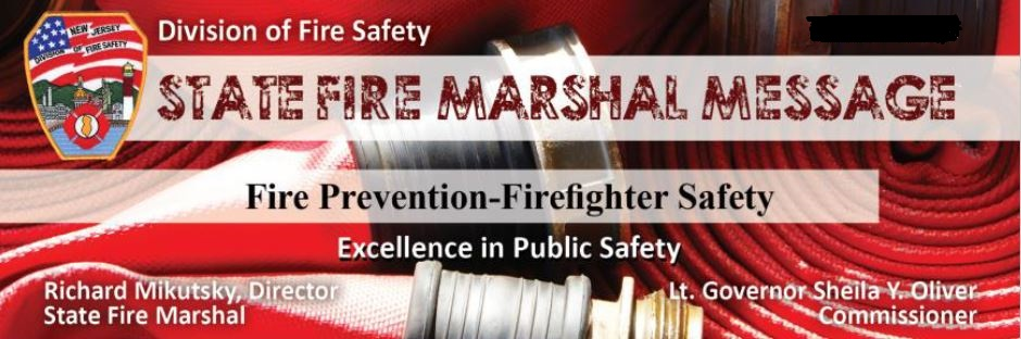 State Fire Marshal Message