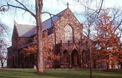 Queens Campus, Rutgers University: Kirkpatrick Chapel