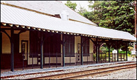 Woodbury Train Station