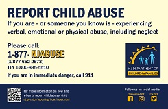 we must report child abuse and neglect A report 21 if you suspect abuse of a disabled child in a home or institution, is it reportable as  should rely on protocols and training within one's profession.