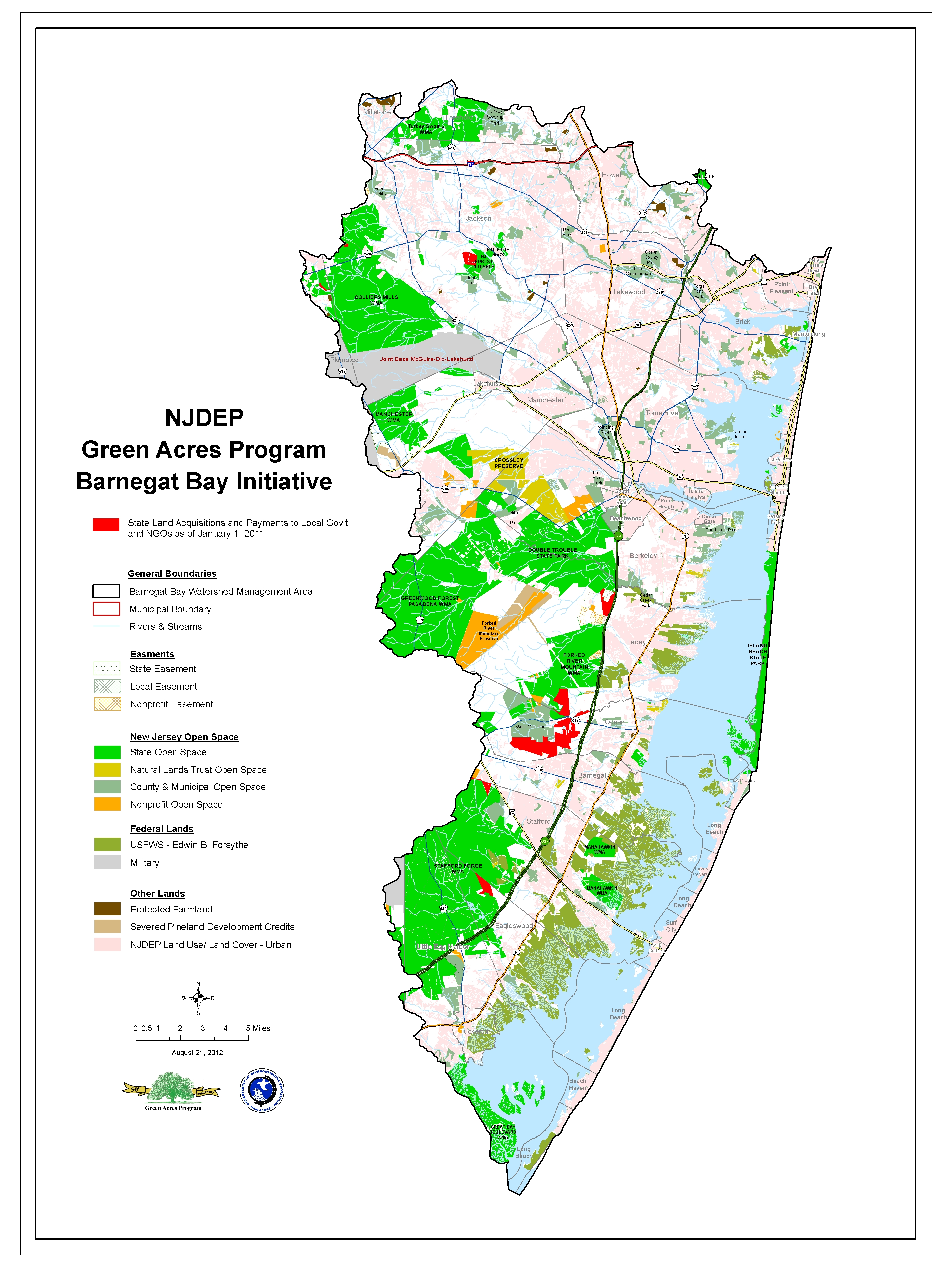 Green Acres Land Acquisition In Barnegat Bay