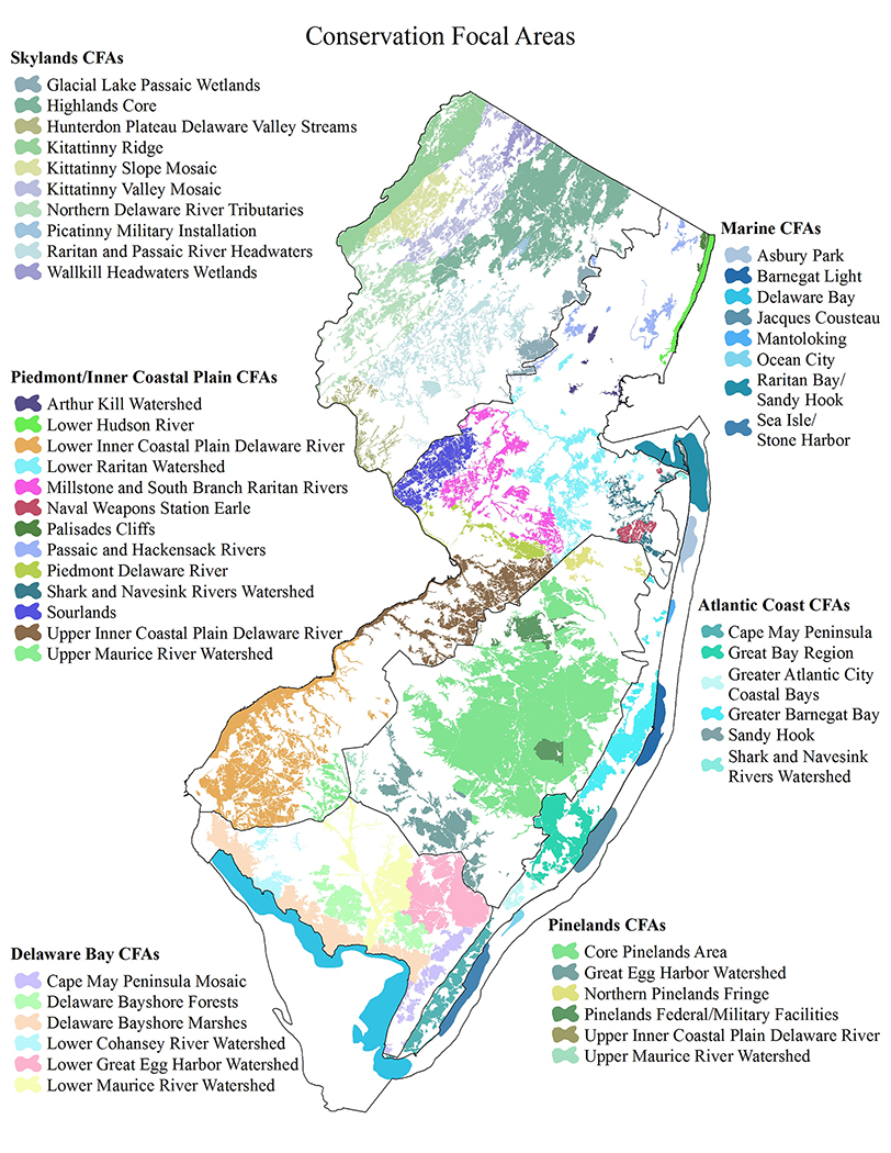 NJDEP Division of Fish & Wildlife - Conservation Focal Area