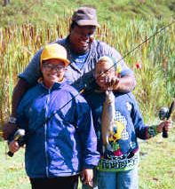 "The ""Hooked On Fishing—Not On Drugs"" program can be offered in many ..."