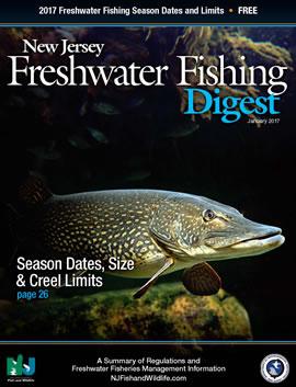 Njdep division of fish wildlife 2017 nj freshwater for Nj freshwater fishing