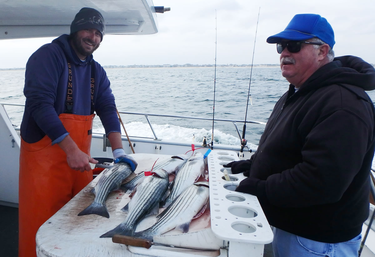 NJDEP Division of Fish & Wildlife - Striped Bass Bonus Program