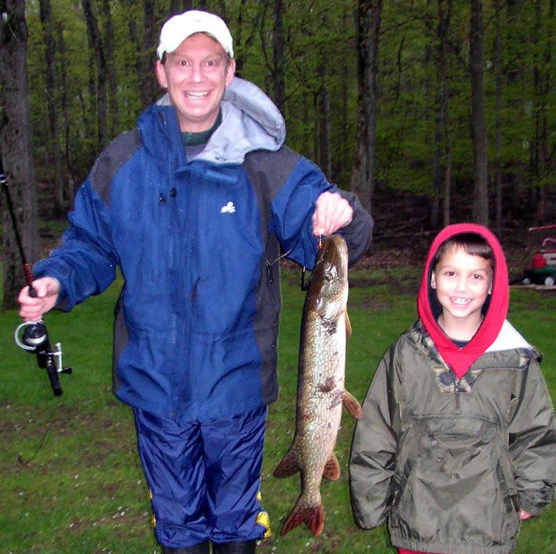 Njdep division of fish wildlife early season pike fishing for Passaic river fishing