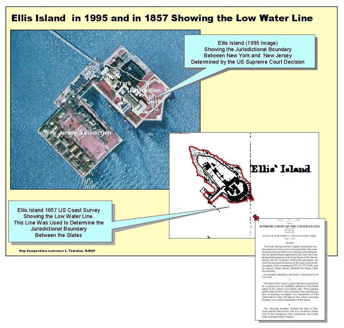Bureau Of GIS - Map of new york ellis island