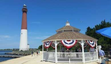 The Gazebo Along Water And Near 157 Year Old Lighthouse Is Evocative Of Pavilions Built Used In 19th Century When Was