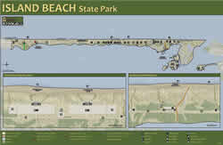 Department of environmental protection for Island beach state park fishing