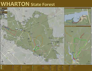 Njdep new jersey department of environmental protection for Wharton state forest cabins