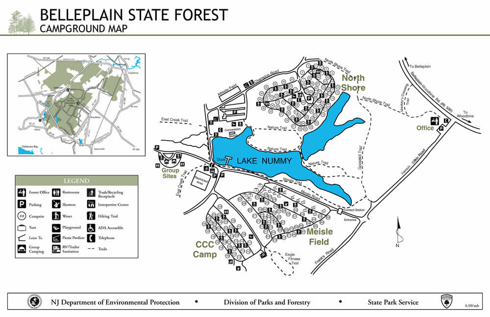 kingower state forest map pdf