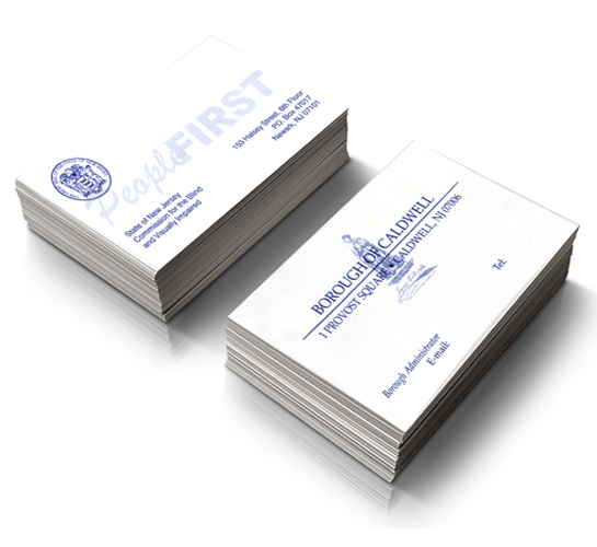 Deptcor products services one color business cards reheart Image collections