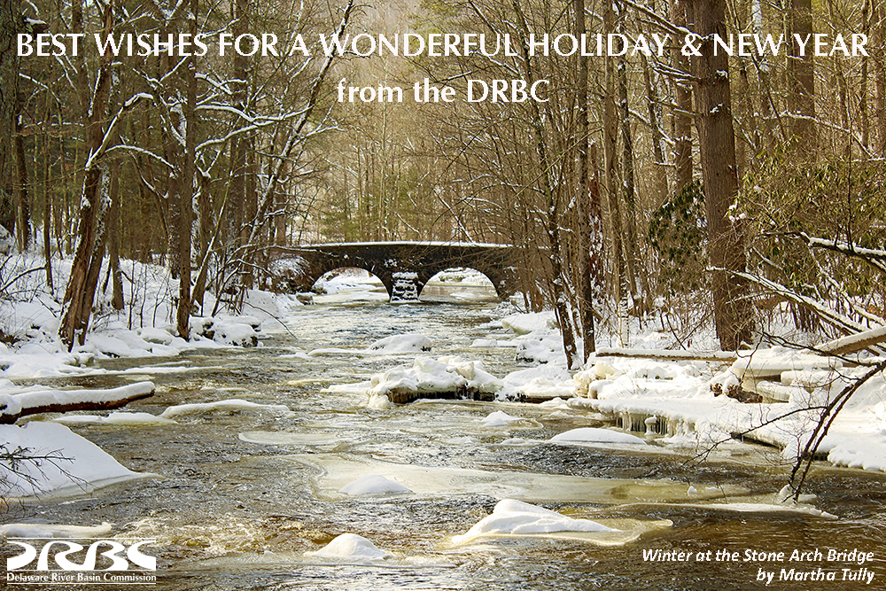 Happy Holidays from the DRBC.