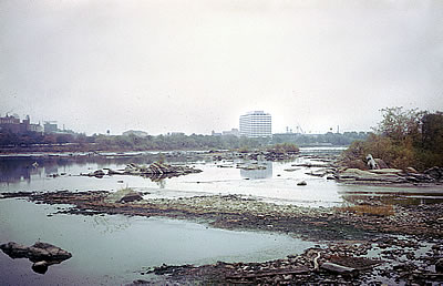 Delaware River near Trenton, NJ, 1963.